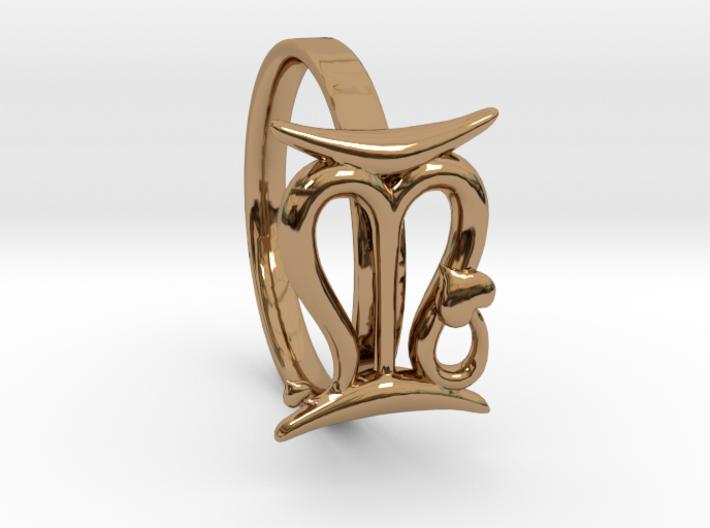 S&P Ring 3d printed
