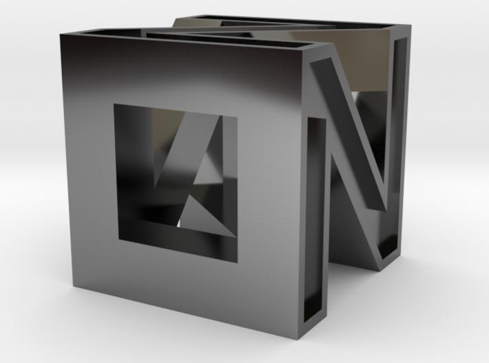 4 Faces N 3d printed