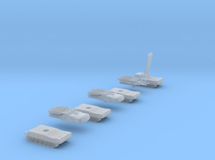 1:285 scale 9K37 Buk SA-11 'Gadfly' 3d printed