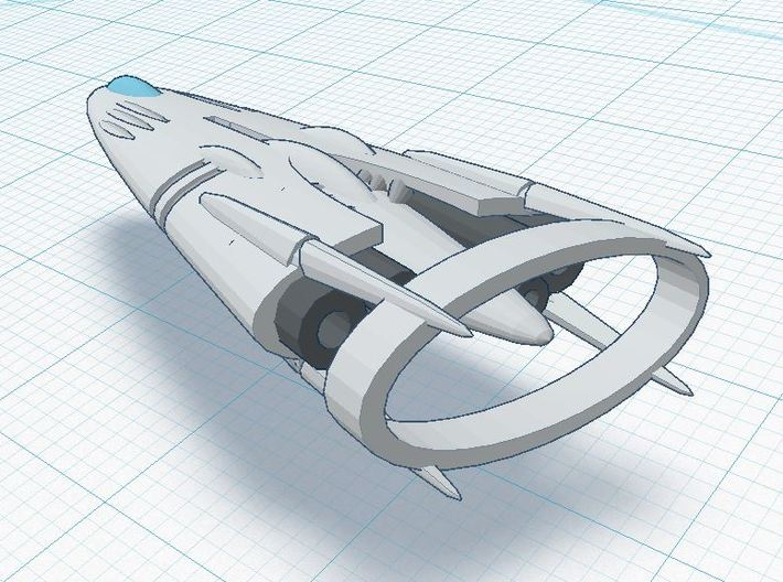 Slipstream IV-E 3d printed Oversized XIA Tier 4 spacecraft ( CONCEPT )