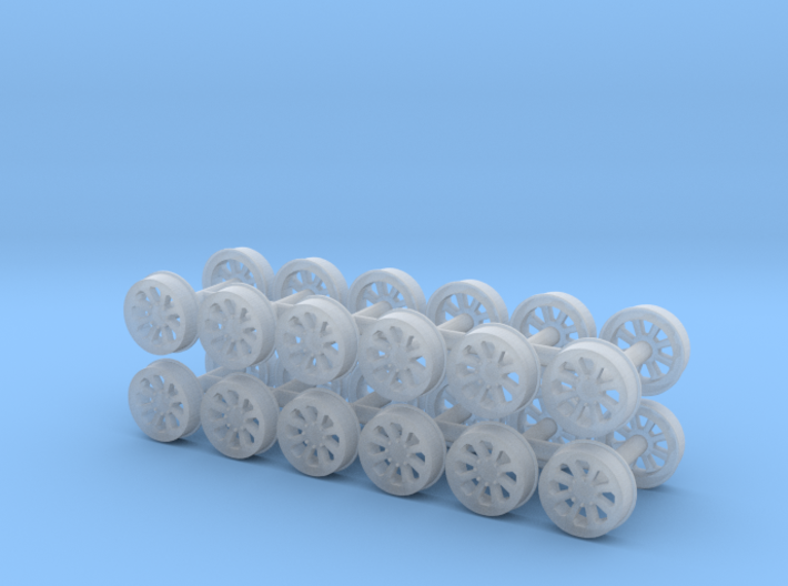 MOW Wheel (N - 1:160) 24X 3d printed