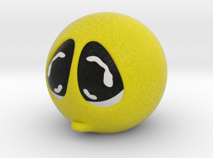 Happy Face Head Sad Large 3d printed