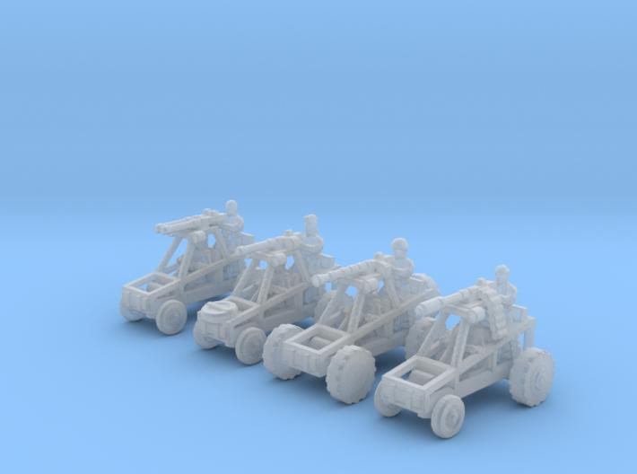 6mm Buggy Raiders x4 3d printed