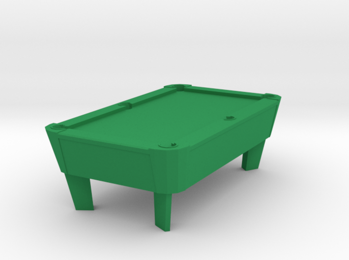 Pool Table - Cleared 'O' 48:1 Scale 3d printed