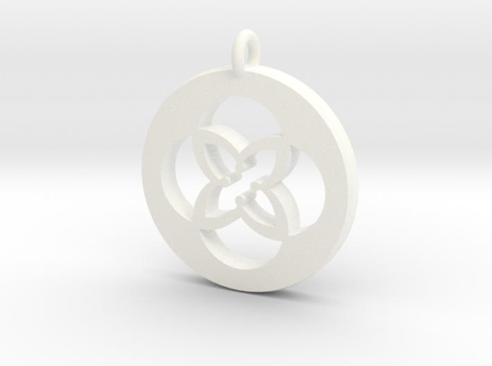 TU Pendant Plastic 3d printed
