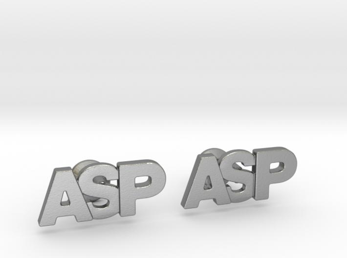 Monogram Cufflinks ASP 3d printed