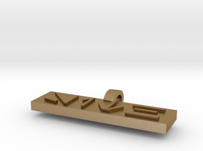 Sith Pendant 2 3d printed