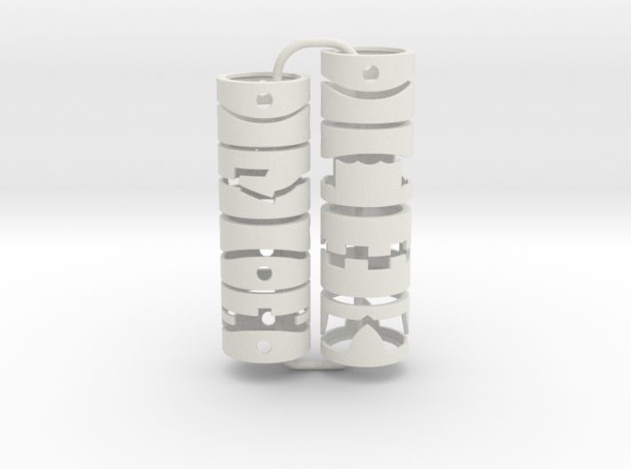 Ring Chess Set 3d printed