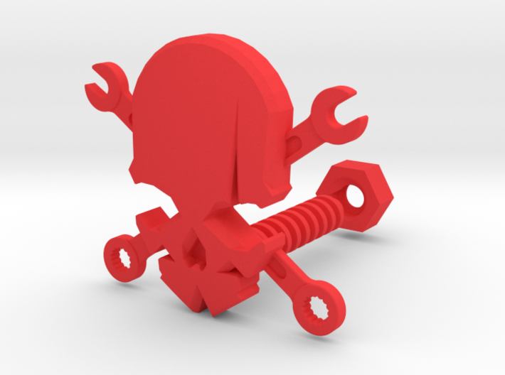 Skull & Wrenches 3d printed
