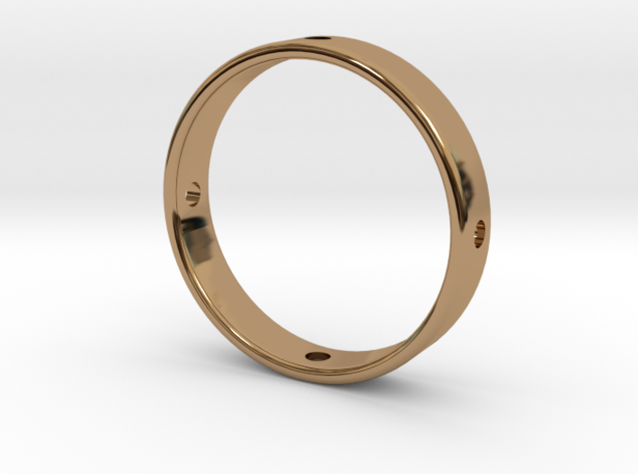 Gyroscope Ring, Middle 3d printed