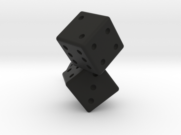 Lucky Dice 3d printed