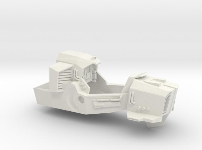 Cabal Interceptor Main Body 3d printed