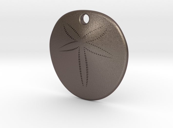 Sand Dollar Steel 30mm 3d printed