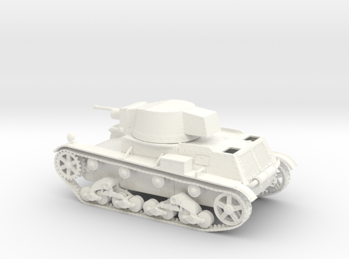 VBP Polish light tank 7TP 1939 1:48 28mm wargames 3d printed