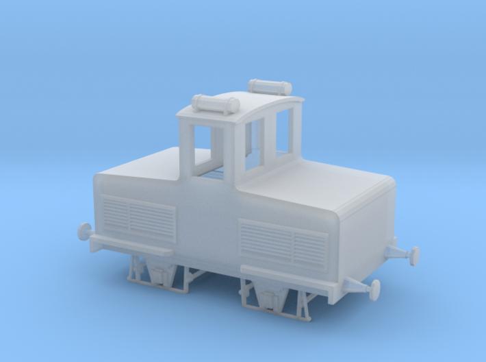 Accumulator model locomotive scale 1/87 3d printed accumulator locomotive shunter carmine e toselli