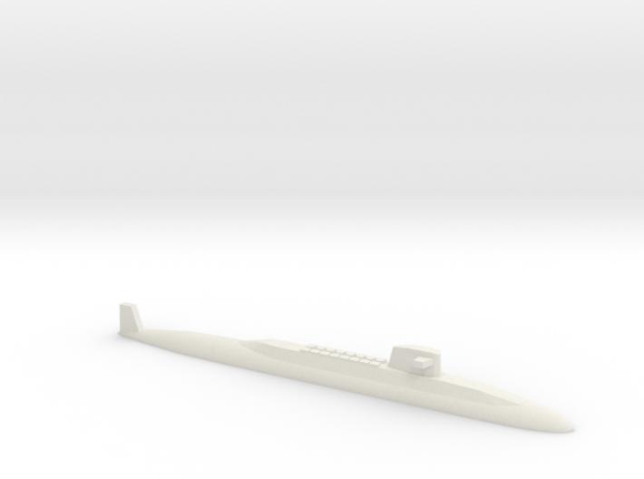 USS Lafayette SSBN, 1/1800 3d printed