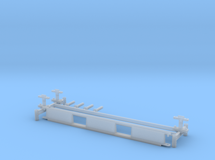 Monorail H Stand Turnout 3d printed