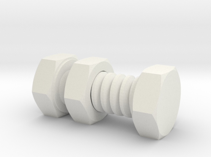 Impossible Nut And Bolt 3d printed