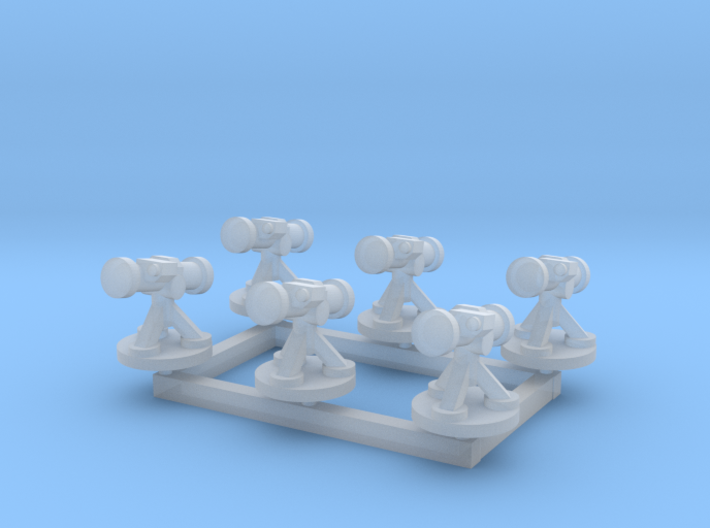 6mm Missile Launchers (x6) 3d printed