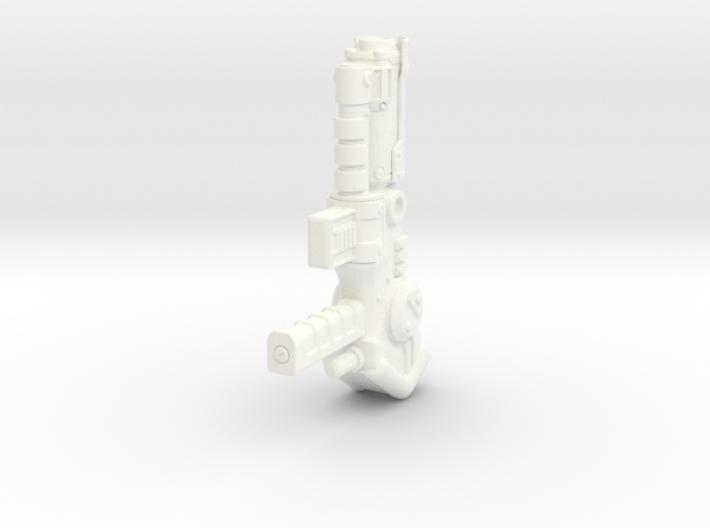 Combiner Pistol - Left Hand 3d printed