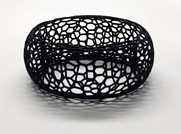 Honeycomb Bangle 3d printed