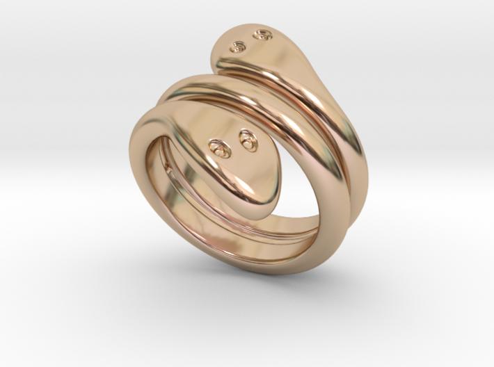 Ring Cobra 18 - Italian Size 18 3d printed
