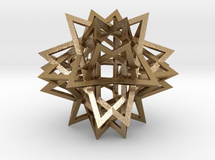 Tetrahedron 8 Compound, large 3d printed