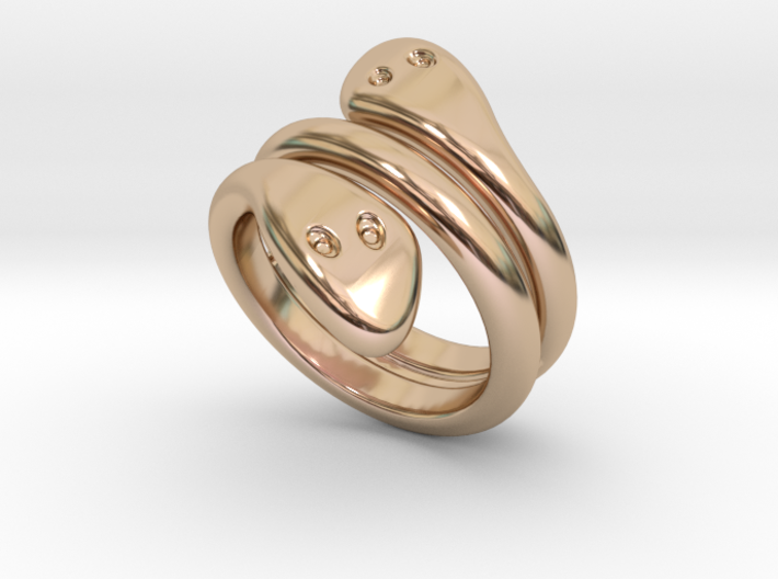 Ring Cobra 22 - Italian Size 22 3d printed