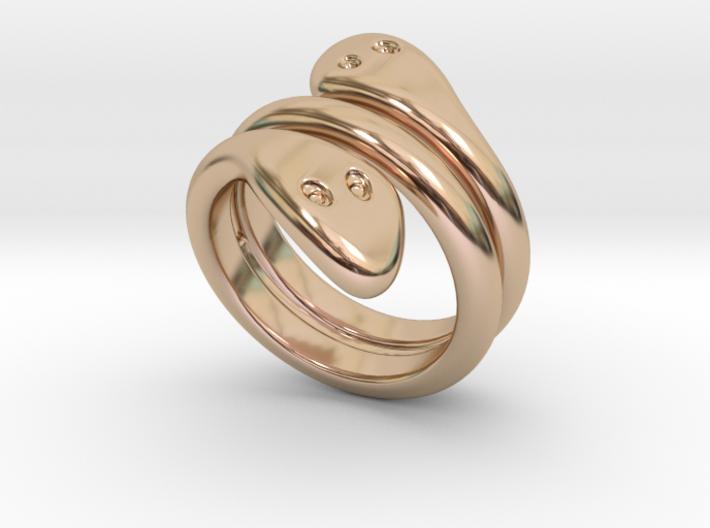 Ring Cobra 29 - Italian Size 29 3d printed