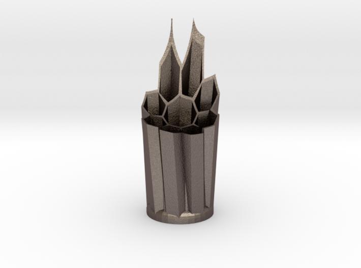 Sculpted Pencil Holder 3d printed