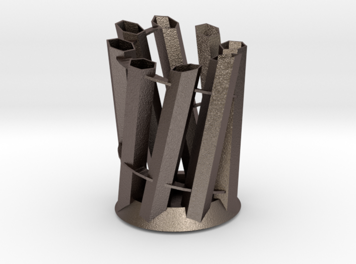 Simple Pencil Holder 140mm x 100mm x 95mm 3d printed