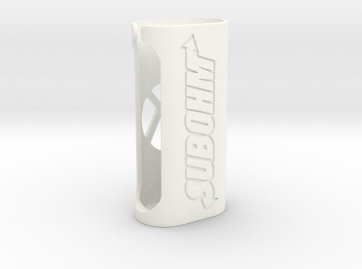 Subox case (Subohm design) 3d printed