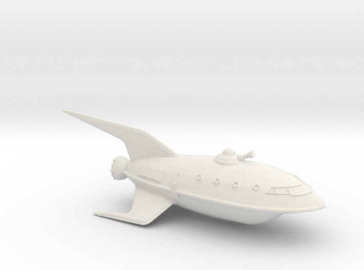 1/537 Futurama Planet Express (WSF Solid) :-) 3d printed