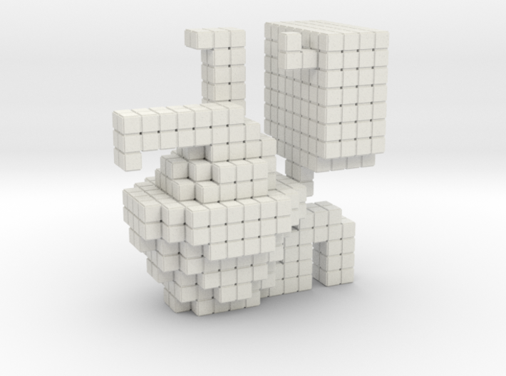 JSW Toilet-1 (Large) 3d printed