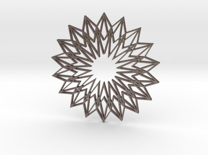 Arabesque: Sunflower 3d printed
