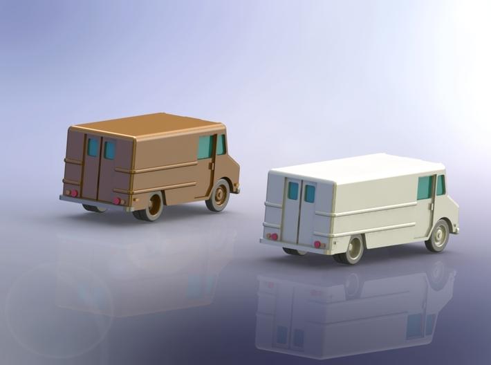 Parcel Service Step Van 1/285 6mm 3d printed