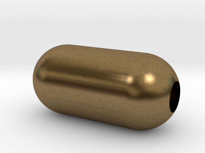DRAW pendant - tubular type 3 personalize 3d printed