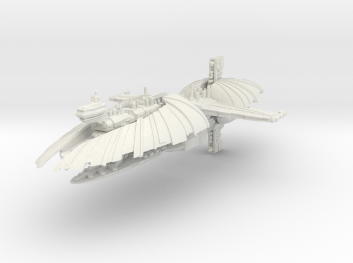Munificent Frigate (1/7000) 3d printed