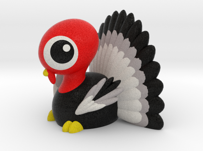 THANKSGIVING TURKEY 3d printed