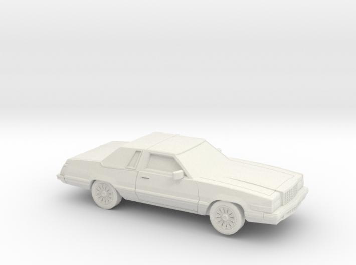 1/87 1980 Ford Thunderbird 3d printed
