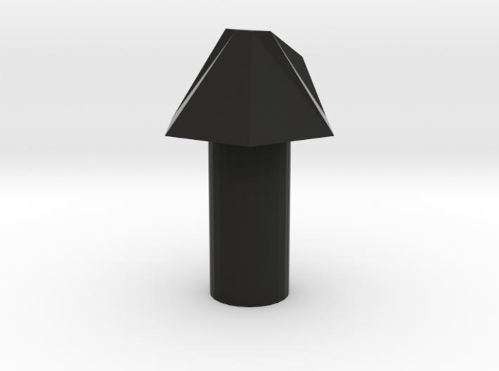 Nitrous purge nozzle 30° angel 3d printed