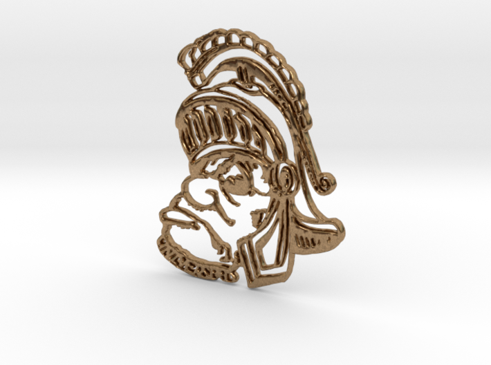 Sparty Pendant 3d printed