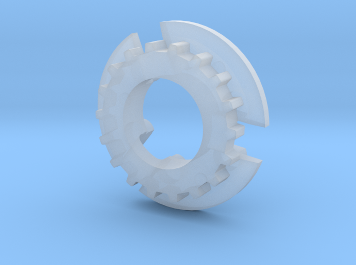 S99-S03_18 18 tooth pulley for 4WD system 3d printed