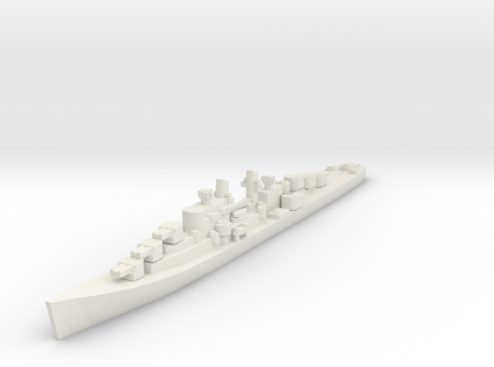 USN Atlanta class cruiser 1/1800 3d printed