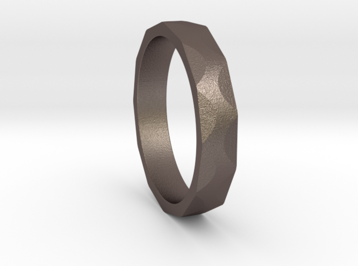 Iron Ring Size 4.25 3d printed