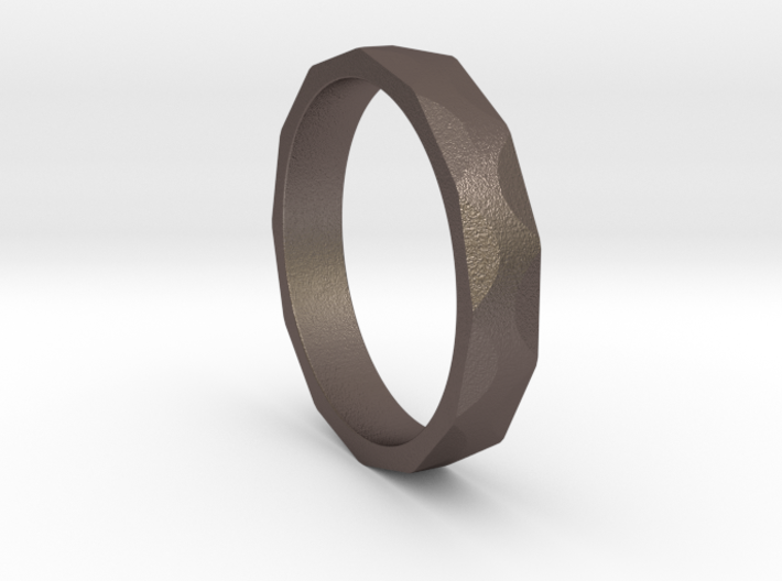 Iron Ring Size 5 3d printed