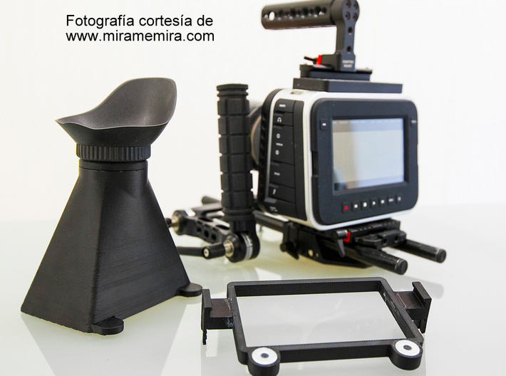 IMPRENTA3D BLACKMAGIC PRODUCTION CAMERA 4K V8 INTE 3d printed