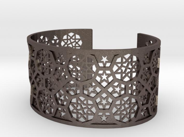 Bracelet Fatehpur Sikri India - Silver L (187mm) 3d printed
