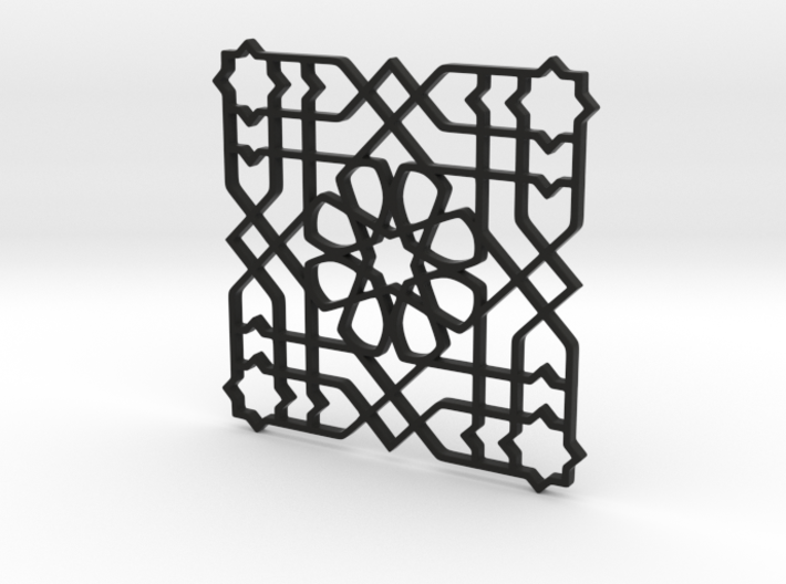 Moroccan Pattern 3d printed