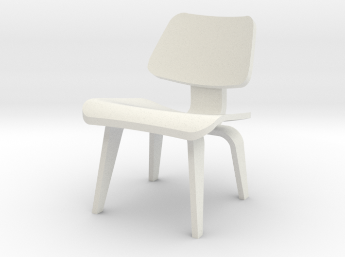 1:24 Eames Molded Plywood Chair 3d printed